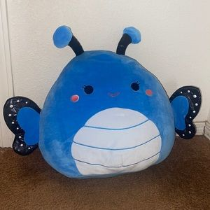"NWT 14"" Waverly Blue Butterfly Squishmallow"
